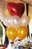 baloonförälskelse Royaltyfria Bilder