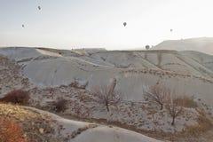 Balooning 13. Tourist balloons over Cappadocia, Turkey Royalty Free Stock Photography