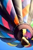 Baloons、篮子和火,哦我 图库摄影