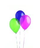 baloons τρία Στοκ εικόνες με δικαίωμα ελεύθερης χρήσης