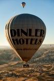 Baloons горячего воздуха в Cappadocia Турции Стоковые Фотографии RF