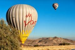 Baloons горячего воздуха в Cappadocia Турции Стоковое Изображение