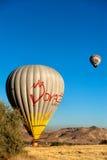 Baloons горячего воздуха в Cappadocia Турции Стоковая Фотография RF
