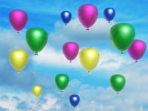 Baloons Stock Photography