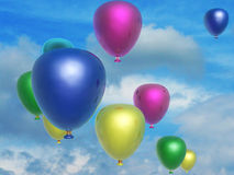 Baloons Royalty Free Stock Photo
