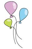 Baloons Stock Images