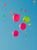 Baloons 2 da cor Fotos de Stock