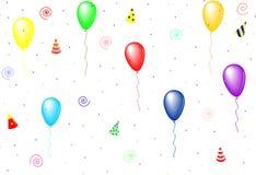 Baloons Obrazy Royalty Free