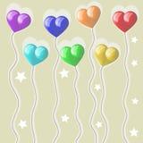 Baloons Royaltyfri Bild