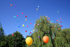 Baloons photo stock