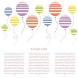 Baloons Fotografia Stock