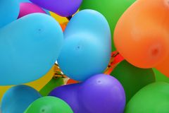 Baloons background Stock Photos