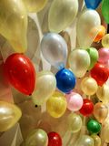 Baloons Color. Baloons fun party Stock Image