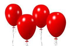 Baloons concept... Stock Image