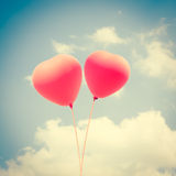 Baloons d'amour Photo libre de droits