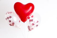 Baloons d'amour Image stock