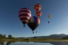 Baloons del aire caliente Fotos de archivo