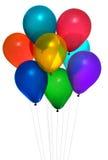 Baloons del partido Fotos de archivo