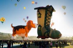 Baloons diferentes do ar das formas Imagem de Stock Royalty Free