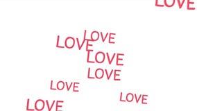 Baloons do amor video estoque