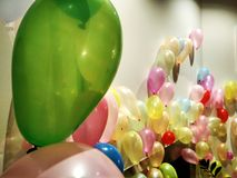 Baloons Color. Baloons fun party Royalty Free Stock Images