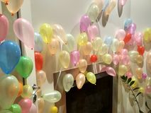 Baloons Color. Baloons fun party Royalty Free Stock Photography