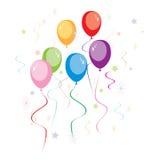 baloons przyjęcie Obraz Stock
