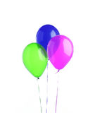 baloons tre royaltyfria bilder