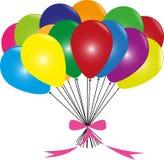 Baloons variopinti Fotografia Stock