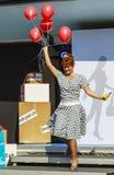 Baloons vermelhos Foto de Stock Royalty Free