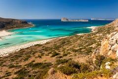 Balos海湾  库存图片