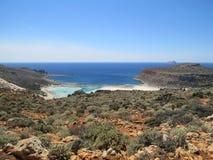 Balos海滩 图库摄影