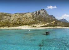 Balos Bay. Beatch on the Balos Bay, Crete, Greece Royalty Free Stock Image