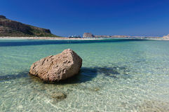 Balos bay Stock Photography