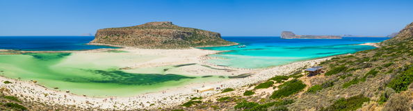 Balos Bay Beach - Crete, Greece Royalty Free Stock Images