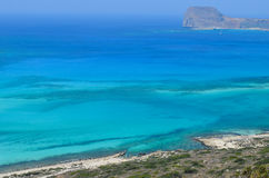 Balos bay Royalty Free Stock Photo