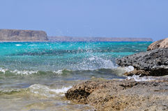 Balos bay. Crete island Royalty Free Stock Photography