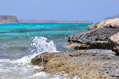 Balos bay. Crete island. Greece Royalty Free Stock Photography