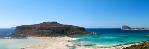 Balos bay, Gramvousa (Crete, Royalty Free Stock Images