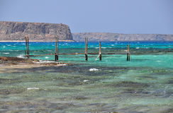 Balos bay, Gramvousa, Crete Royalty Free Stock Photo