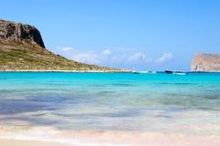 Balos bay, Gramvousa Island, Crete, Greece Stock Image