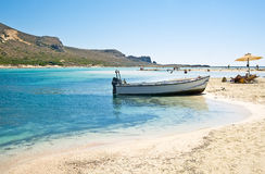 Balos bay in Greece Stock Images