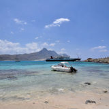 Balos Bay on the island crete Stock Photos