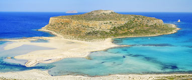 Balos bay Stock Images