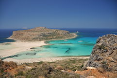 Balos beach Stock Photography