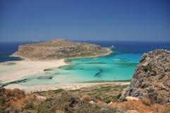 Balos beach Stock Photography