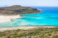 Balos beach Royalty Free Stock Image