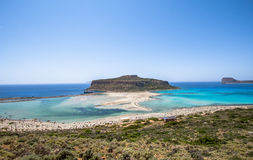 Balos beach Stock Images