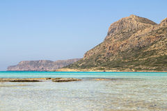 Balos beach Stock Images