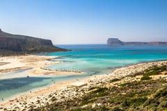 Balos beach Royalty Free Stock Photography